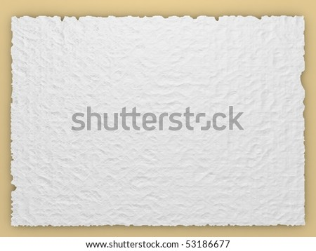 vintage sheet of paper - stock photo