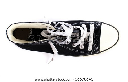 vintage shoe - stock photo