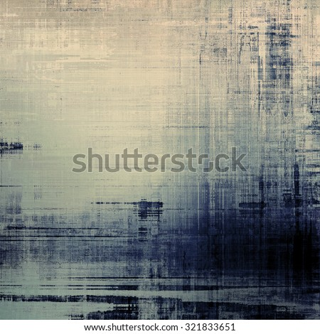 Vintage spotted textured background. With different color patterns: yellow (beige); blue; gray; black - stock photo