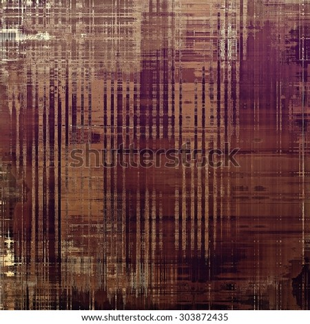 Vintage spotted textured background. With different color patterns: yellow (beige); brown; purple (violet); gray - stock photo
