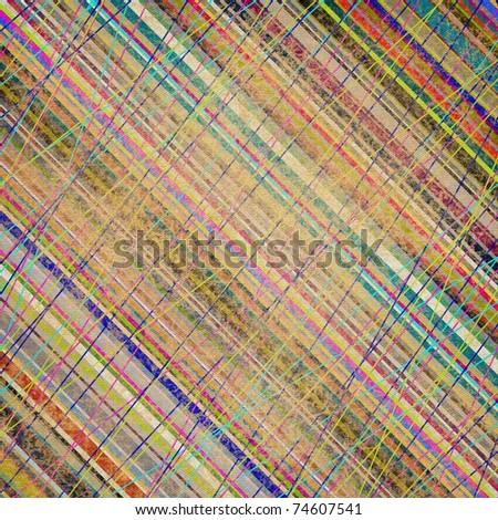vintage striped background - stock photo