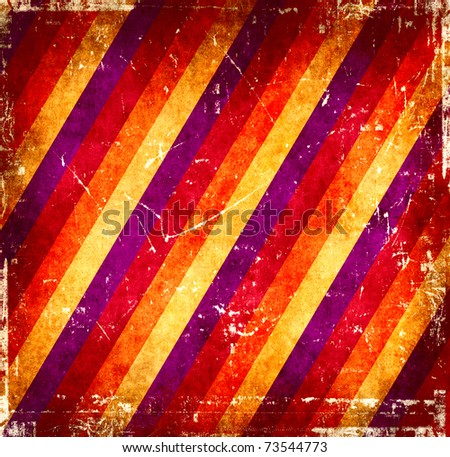 Vintage stripes background - stock photo