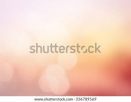 Vintage style. Abstract blurred Nature textured background: orange and blue patterns. Summer holidays, Happy Valentine's Day, Love, Romantic, 14 February, Felling, Cheerful, Enjoy, Fun, Care concept. - stock photo