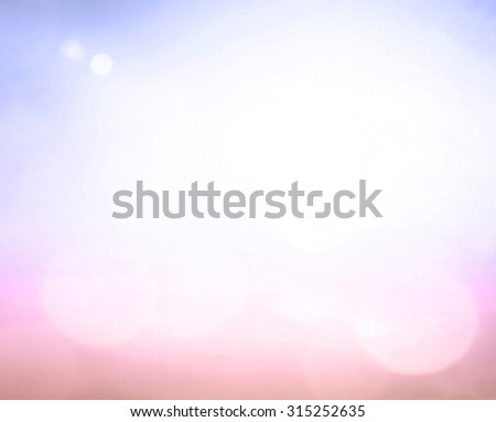 Vintage style. Abstract blurred textured background: pink and purple patterns. Blurred nature background. Sandy beach backdrop with turquoise water and bright sun light. Summer holidays concept. - stock photo