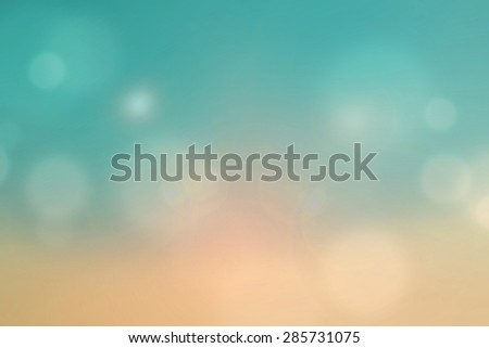 Vintage style background. Blurry abstract beautiful  background, Blurred nature background, Nature Smooth bokeh. Summer Holidays. - stock photo
