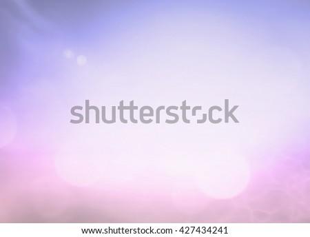Vintage Style Blur Sun Sand Sea Flare Surf Soft Zen Glow Wave Clear Retro Aqua Relax Shine Light Clean Pastel Fresh Bless Purple Air Park Blue Sunny Beauty Surf Calm Colour Golden Heart Peace Natural. - stock photo