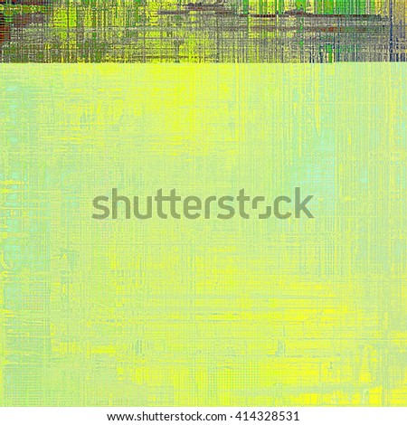 Vintage style designed background, scratched grungy texture with different color patterns: yellow (beige); brown; gray; green; purple (violet) - stock photo