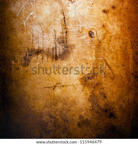 Vintage style grunge background of texture and light - stock photo
