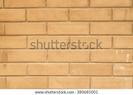 Vintage style old red brick wall background and texture