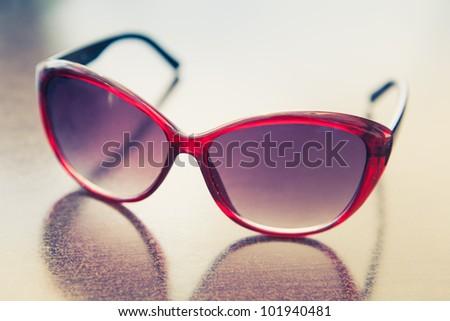 Vintage sunglasses - stock photo