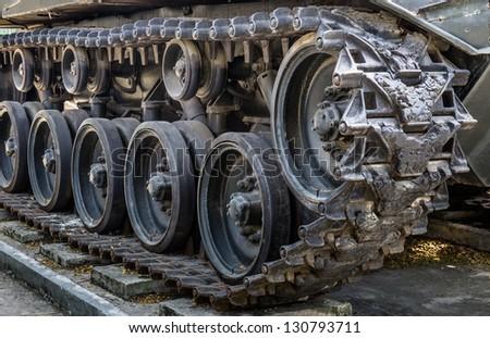 Vintage Tank - Crawlers - stock photo