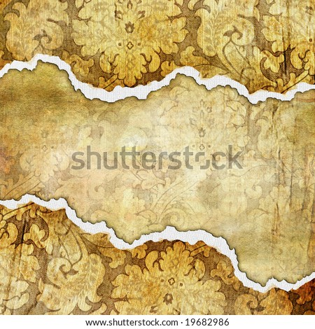 vintage tattered background - stock photo