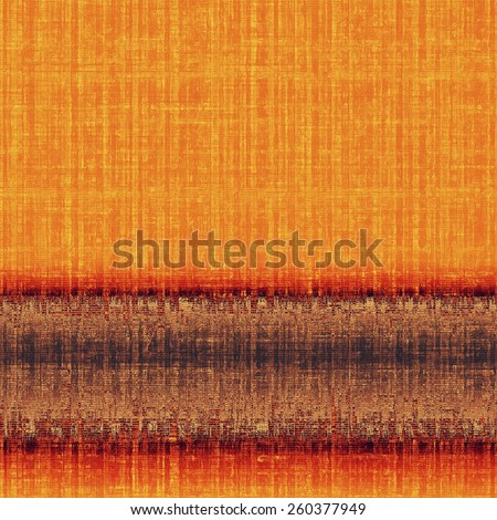 Vintage texture for background. With different color patterns: yellow (beige); brown; gray; red (orange) - stock photo