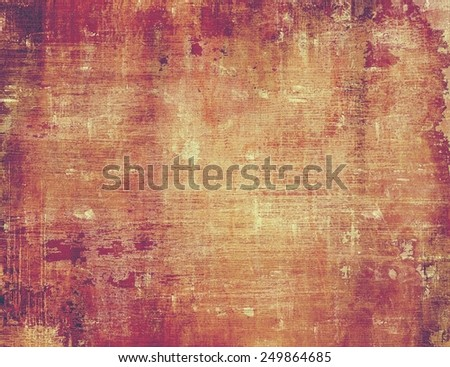 Vintage texture for background. With different color patterns: yellow (beige); brown; purple (violet); red (orange); pink - stock photo