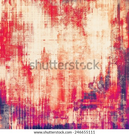 Vintage texture ideal for retro backgrounds. With different color patterns: purple (violet); yellow (beige); pink; red (orange) - stock photo