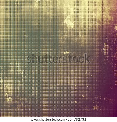 Vintage texture. With different color patterns: yellow (beige); brown; green; purple (violet)