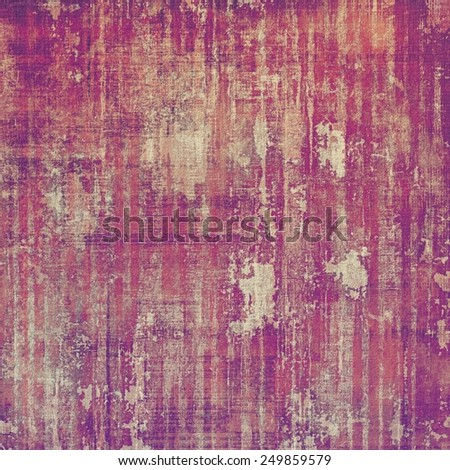 Vintage texture. With different color patterns: yellow (beige); brown; purple (violet); red (orange); pink - stock photo