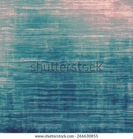 Vintage textured background. With different color patterns: blue; pink; cyan - stock photo