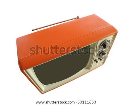 Vintage TV - stock photo