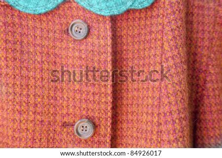 vintage tweed jacket - stock photo