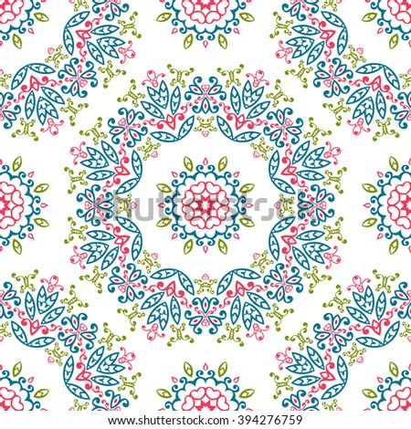 Vintage universal different seamless eastern patterns (tiling). Endless texture can be used for wallpaper, web page background, surface clothes, scrapbooking, cardmaking. Retro geometric ornament.