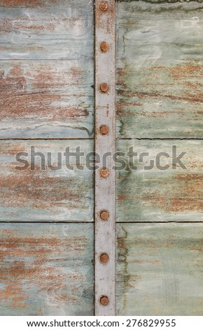 vintage vertical  wood wall texture background. - stock photo