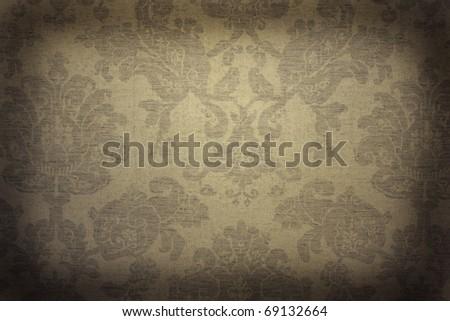 Vintage wallpaper - stock photo
