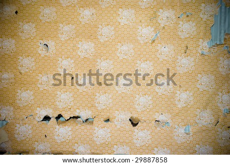 Vintage wallpaper background - stock photo