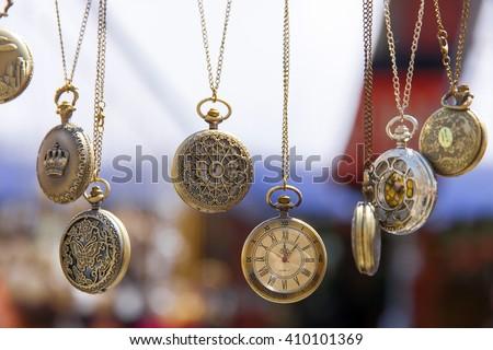 Vintage watches - stock photo