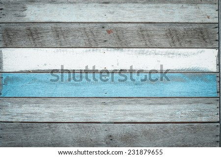 vintage wood background - stock photo