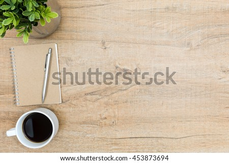 top office table cup. Exellent Table Vintage Wood Office Table With Notebook Pen And Cup Of Coffee Top View  In Office Table Cup