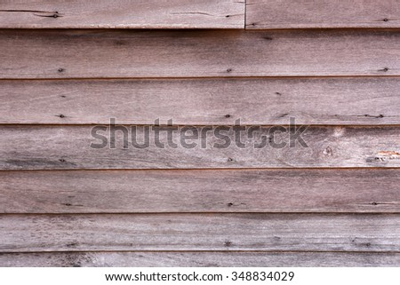 Vintage wood panel western cowboy saloon style from old warehouse plenty of room for copy natural day light version - stock photo
