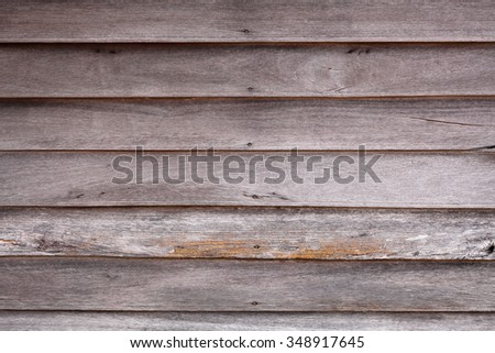 Vintage wood panel western cowboy saloon style from old warehouse with white infrared bleached effect plenty of room for copy natural day light version - stock photo