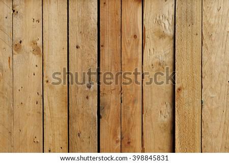 vintage wood plank background - stock photo