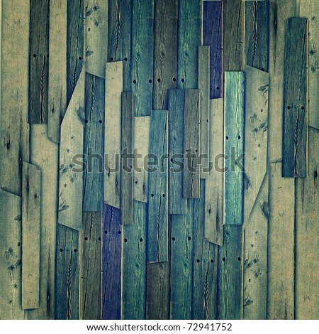 Vintage wood texture background - stock photo