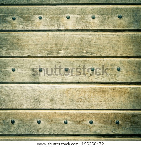 Vintage wooden background or texture - stock photo