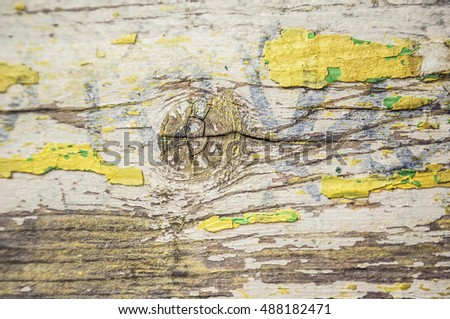 vintage wooden background with old paint