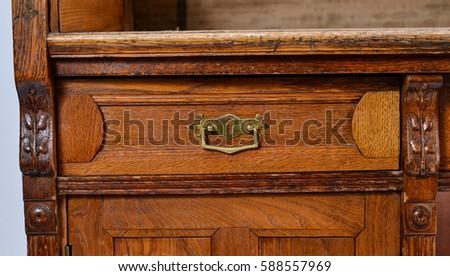 Lock Desk Drawer Stock Images Royalty Free Images