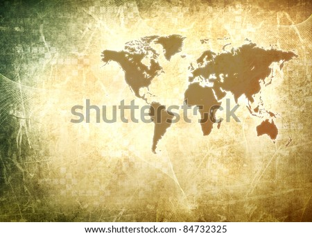 Vintage world map wallpaper stock illustration 84732325 shutterstock vintage world map wallpaper gumiabroncs Image collections
