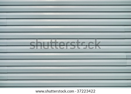 vinyl siding - stock photo
