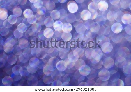 violet abstract blurred bokeh lights background - stock photo