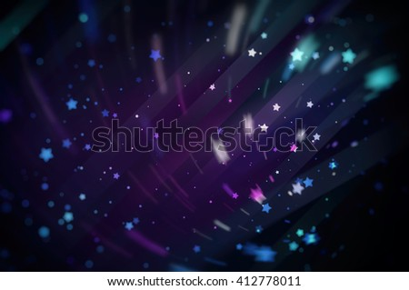 Violet bright abstract background with stars