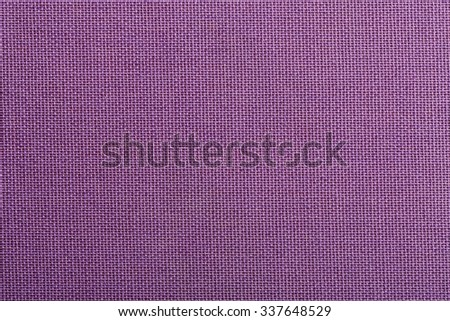 Violet cloth texture background, book cover. - stock photo