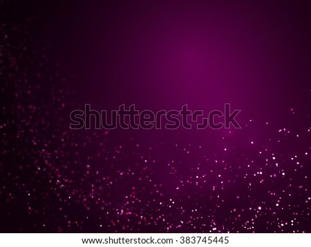 violet glitter flow background - stock photo