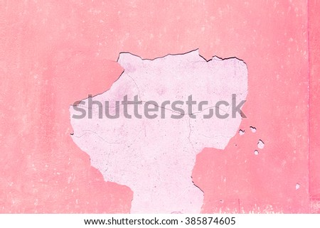 violet   in europe italy old wall and antique contruction   yellow       color - stock photo