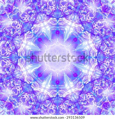 violet kaleidoscope pattern painting for background/violet kaleidoscope design/violet kaleidoscope pattern painting for background