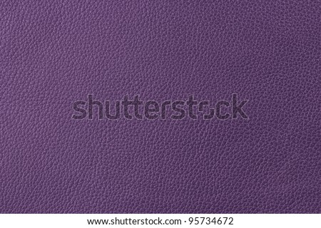 violet leather - stock photo