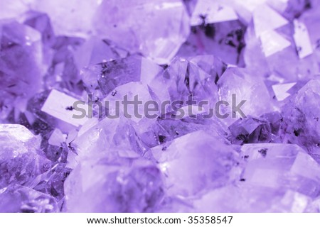 violet mineral background - stock photo