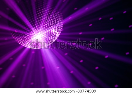violet party background - stock photo