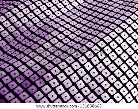 Violet sequins for disco, party, fashion, background or abstract designs.More of this motif and more backgrounds in my port. - stock photo